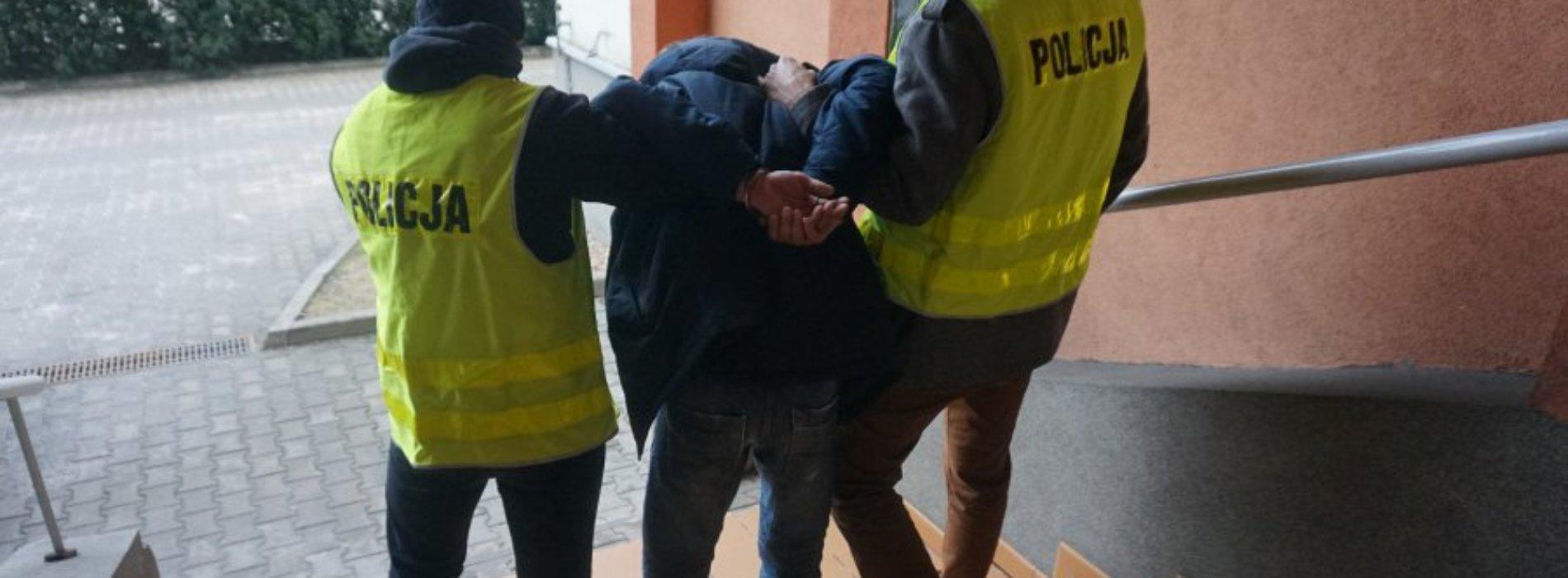 WANDAL W RĘKACH POLICJI