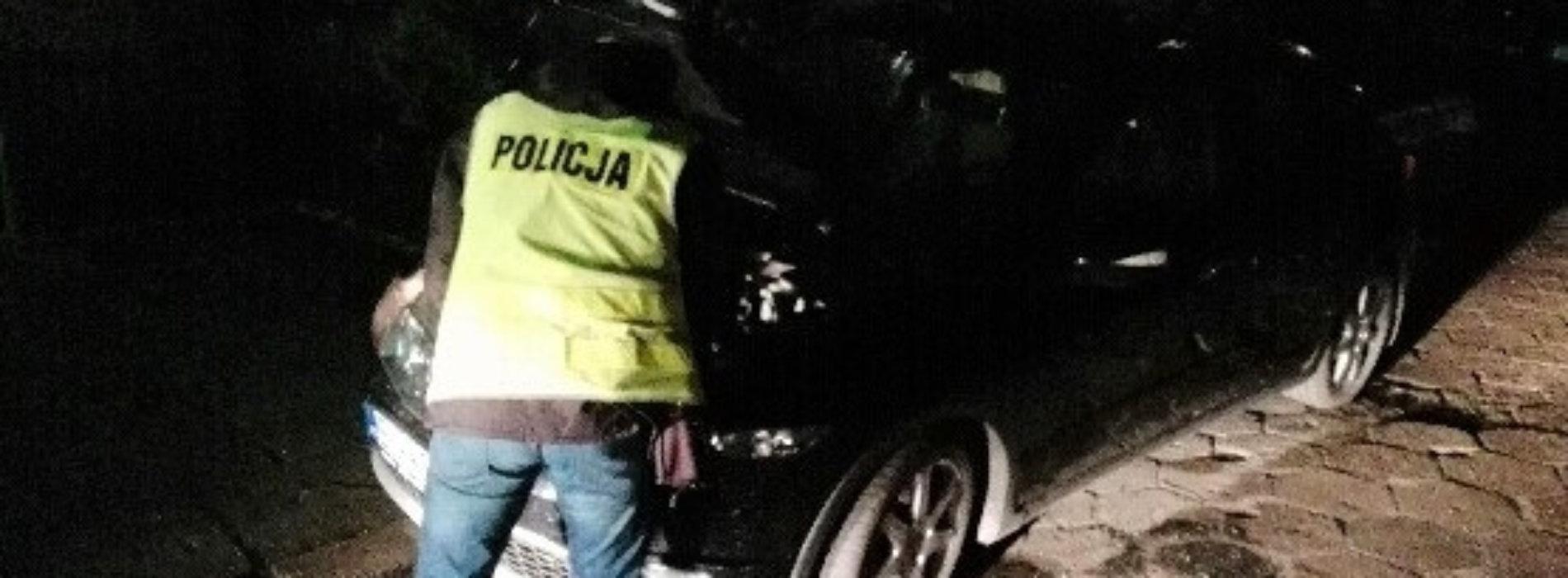 POLICJANCI ODZYSKALI SKRADZIONĄ HONDĘ I ZATRZYMALI PODEJRZEWANYCH