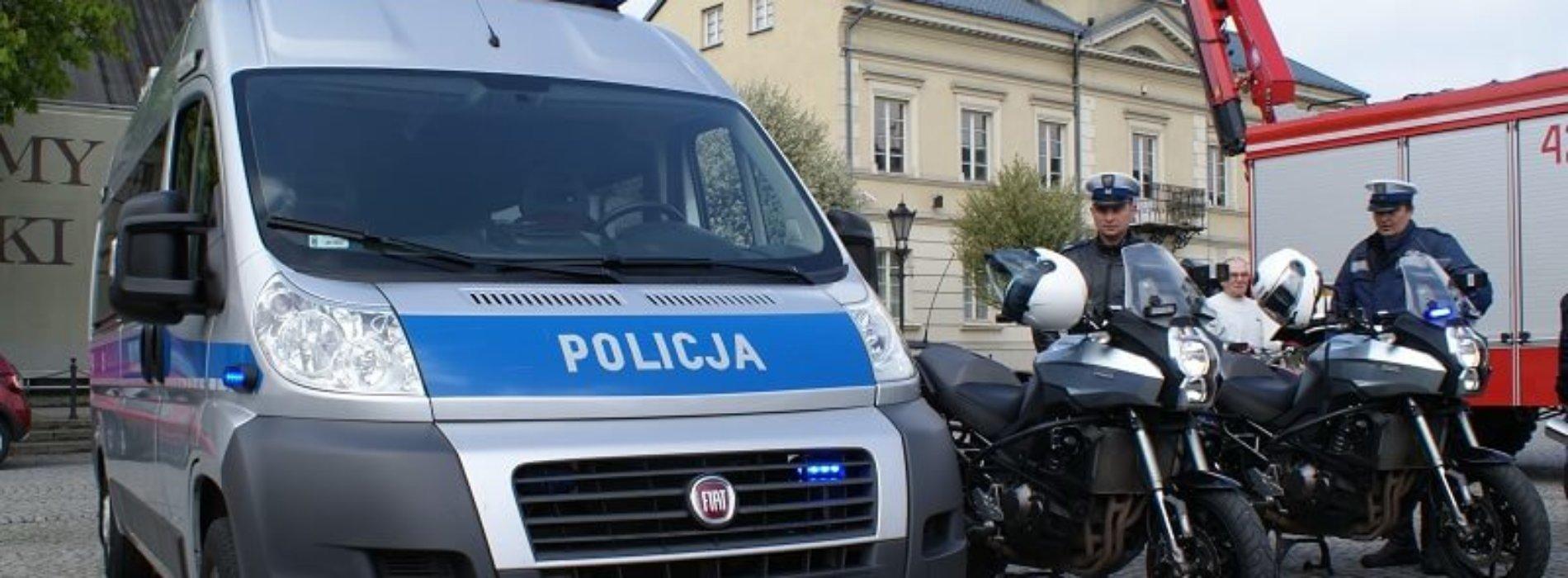 SEZON MOTOCYKLOWY ROZPOCZĘTY – RÓWNIEŻ DLA POLICJANTÓW