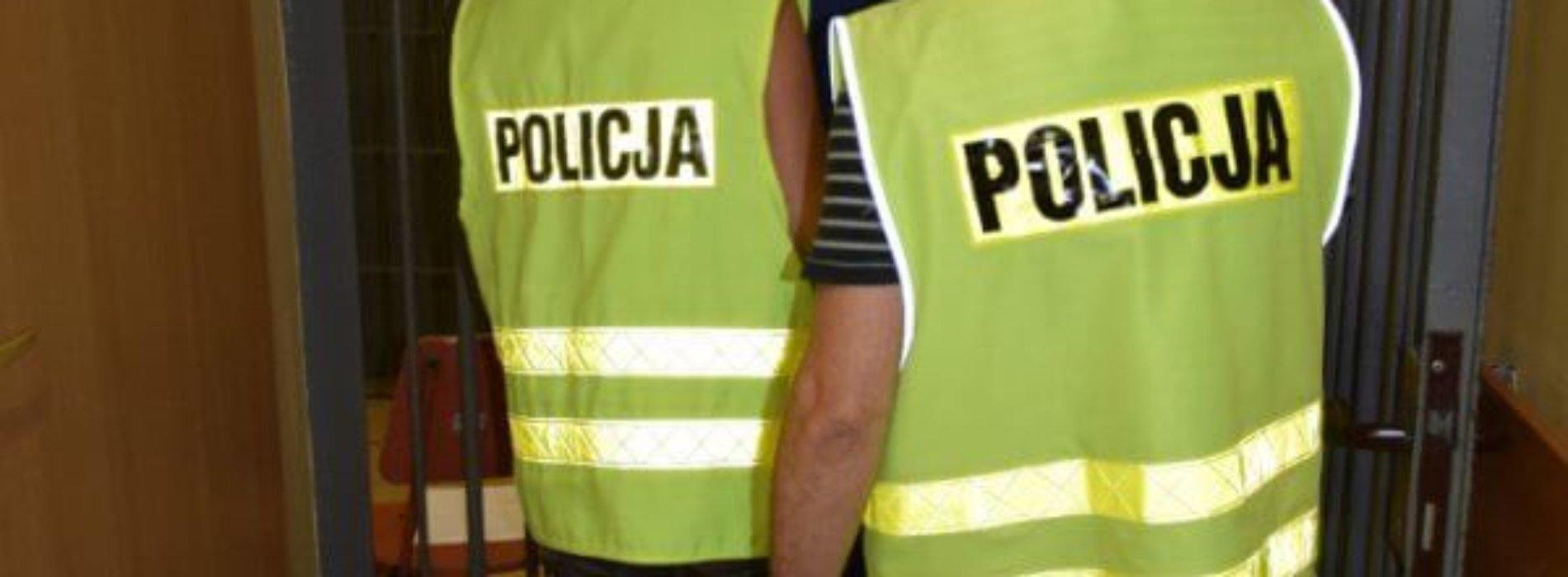 POLICJANCI ZATRZYMALI PODEJRZANEGO O PEDOFILIĘ